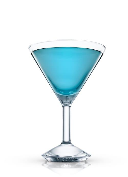 blue devil against white background