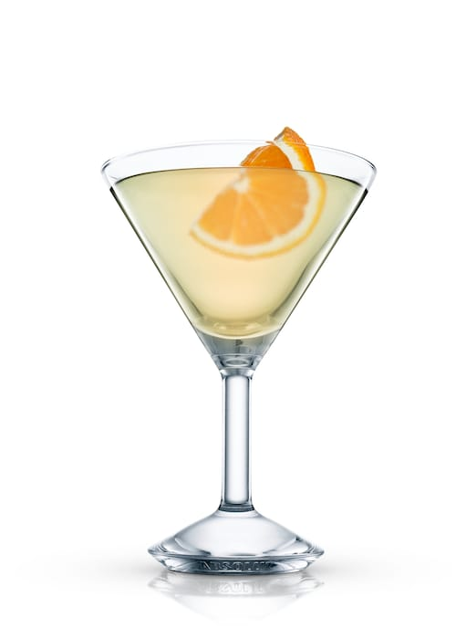 raymond hitch cocktail against white background