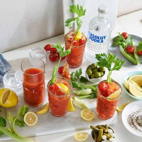 absolut bloody mary in environment