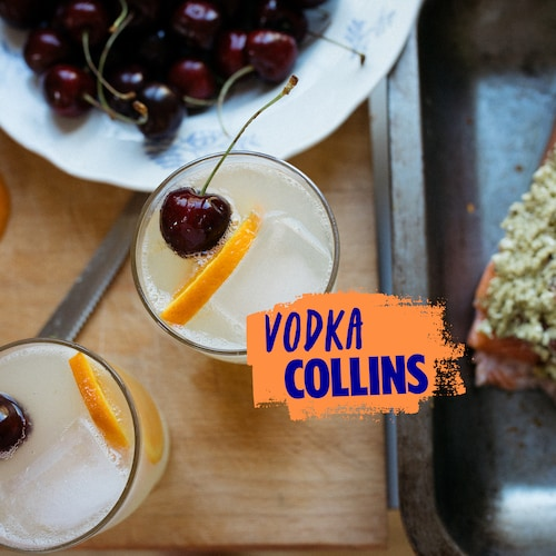 vodka collins in environment