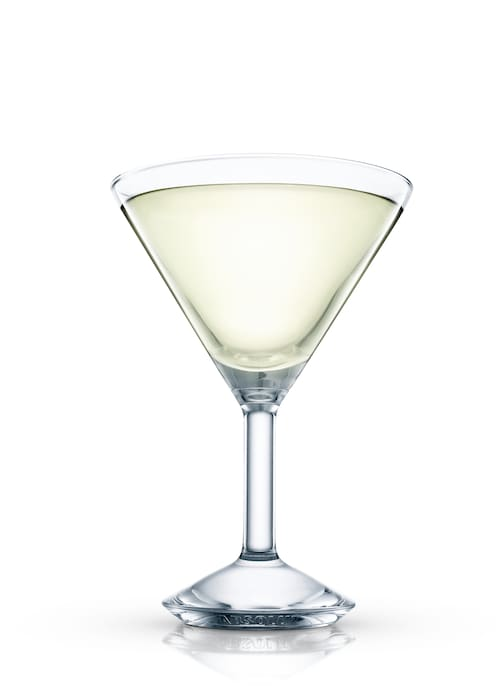 classic margarita straight up against white background