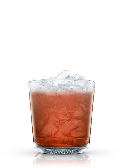 suicide cocktail against white background