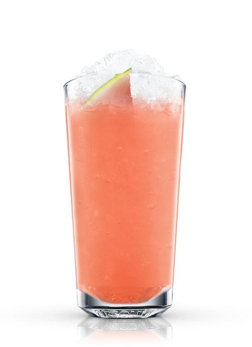 watermelon lemonade against white background