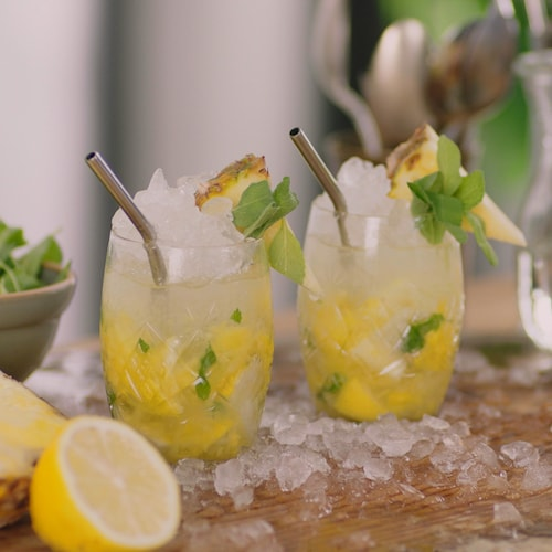 absolut smoked pineapple in environment