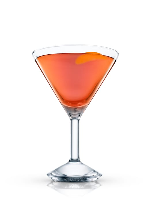 deshler cocktail against white background