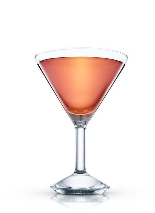 canada cocktail against white background