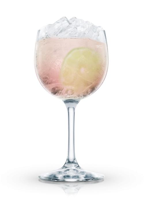 tequila sunrise classic against white background