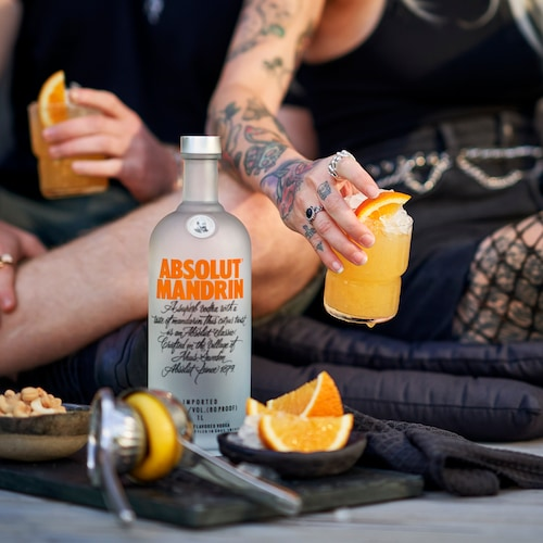 absolut mandrin crush in environment