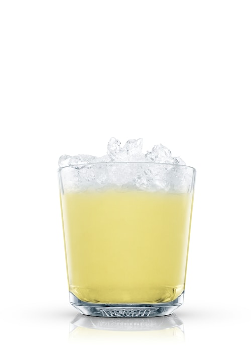 absolut ruby star  against white background