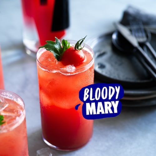absolut peppar bloody mary in environment