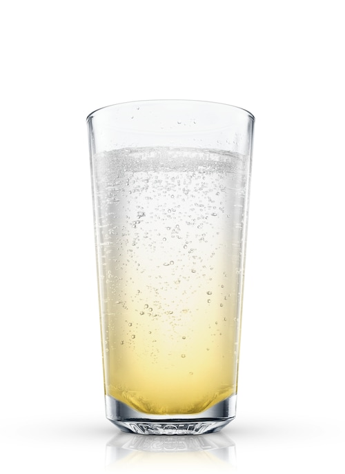 golden fizz against white background