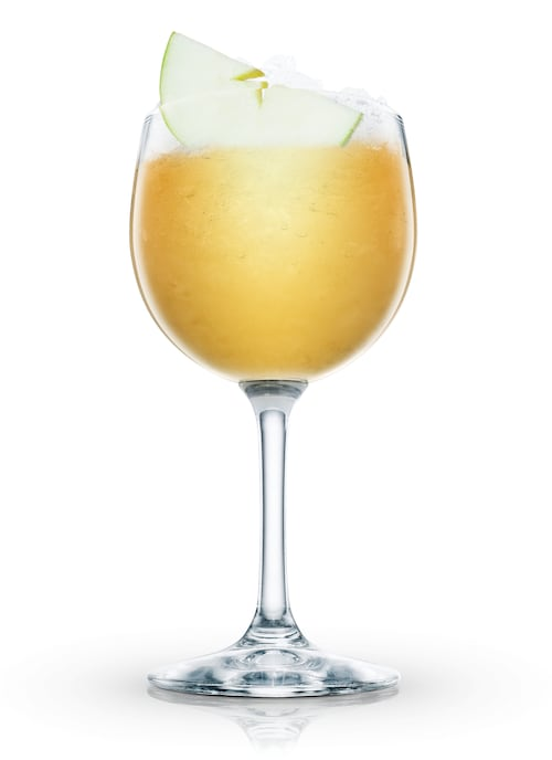 parisian spring punch against white background