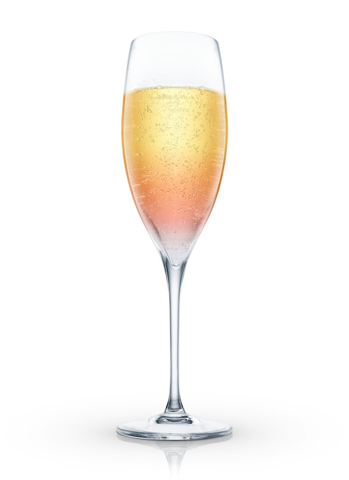 champagne cosmo against white background