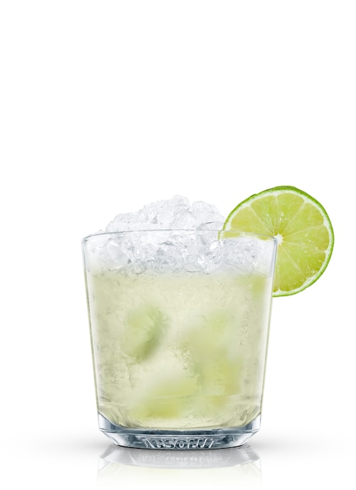absolut sweet lime against white background