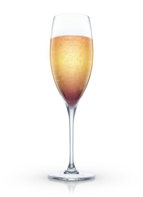 champagne à la pologne against white background