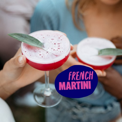 french martini in environment