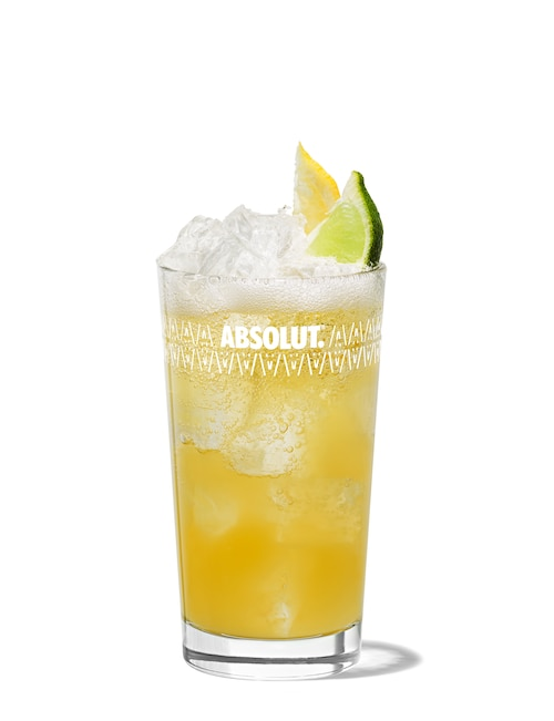 absolut mandrin punch against white background