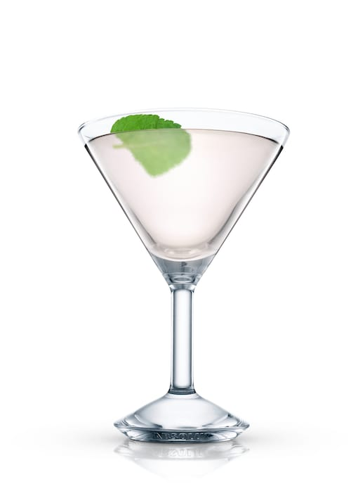 derby cocktail against white background