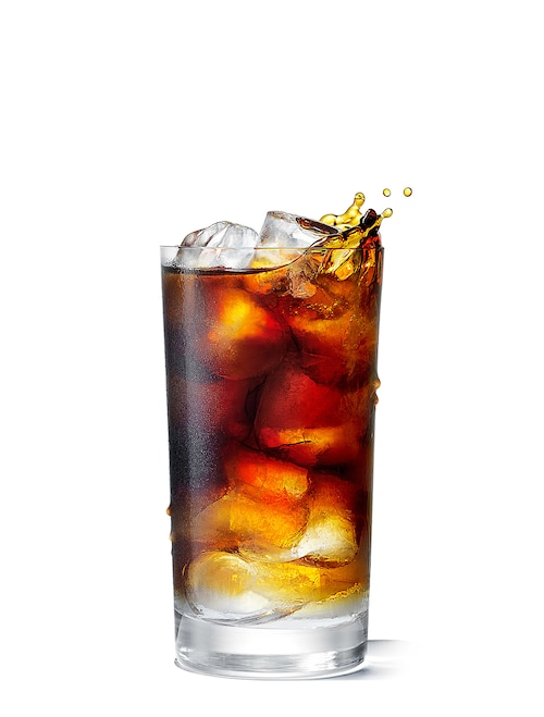 absolut long espresso against white background