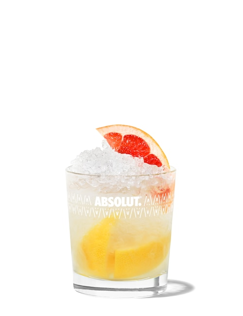 absolut sunbeam against white background
