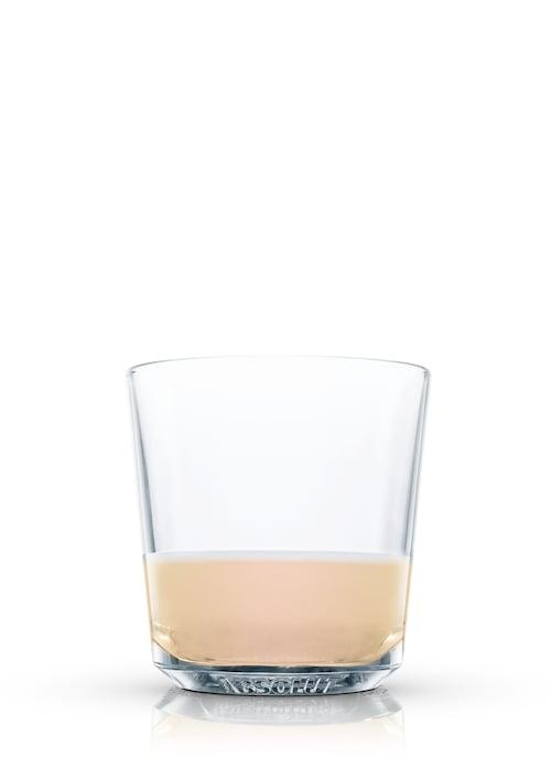 breakfast egg-nog against white background