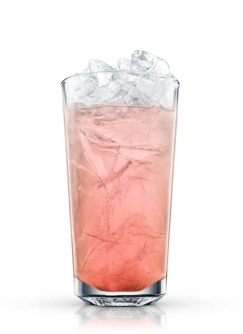 absolut pomegranate fizz against white background
