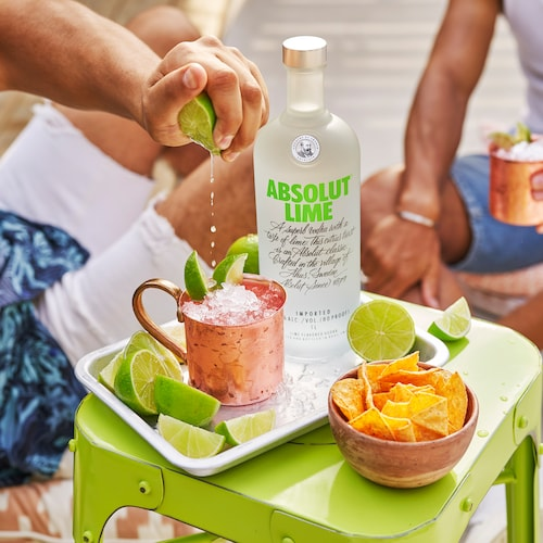absolut lime mule in environment