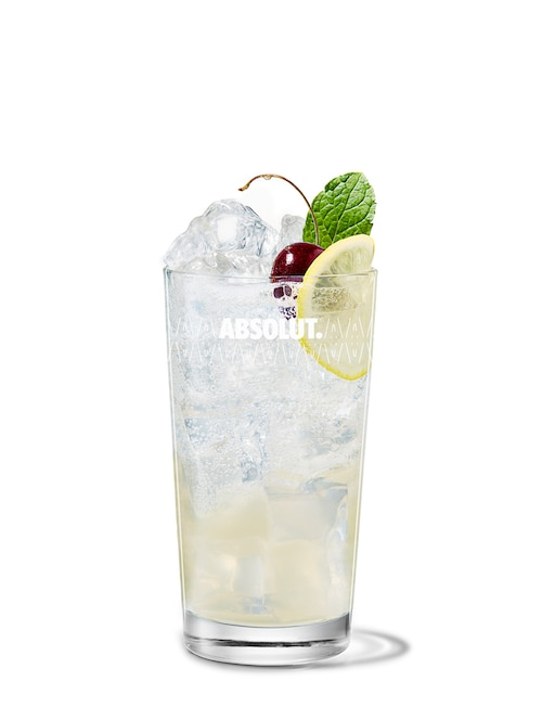 absolut gräpe sling against white background