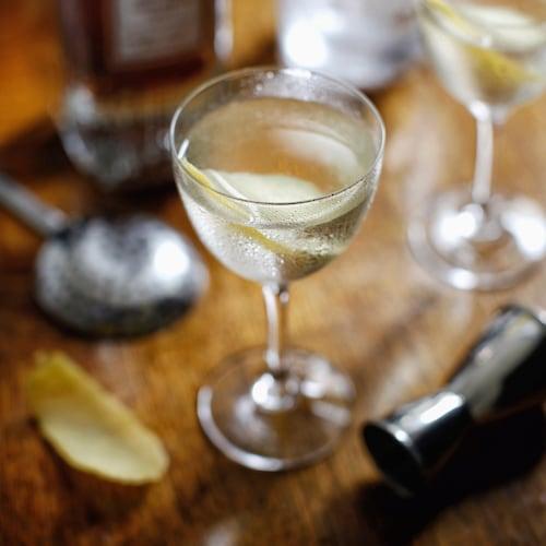 vesper martini in environment