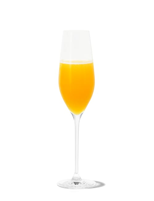 absolut mimosa against white background