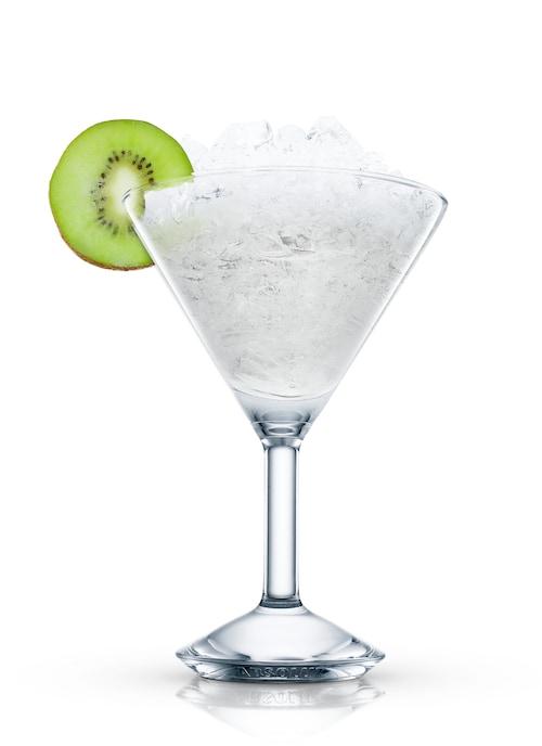 absolut mango kiwi against white background