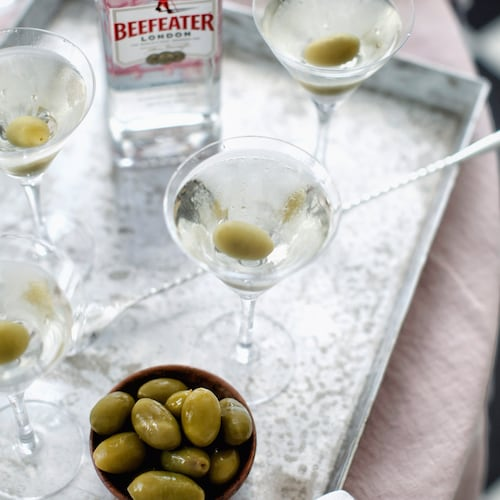 dirty martini in environment