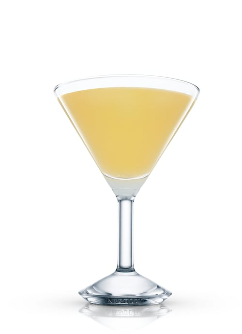 almond martini against white background