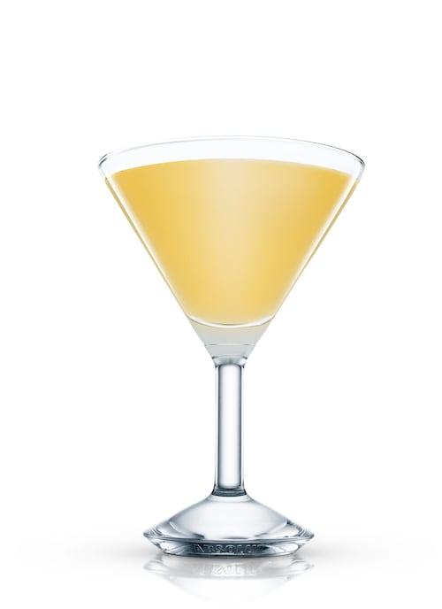 mellow martini against white background