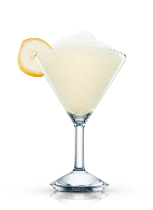 bad girl cocktail against white background
