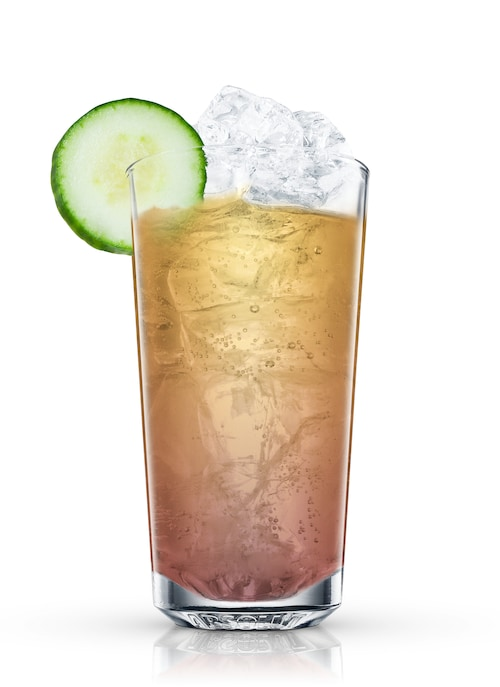 rosarita highball against white background