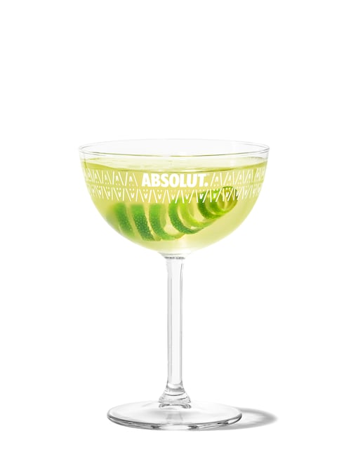 gimlet against white background