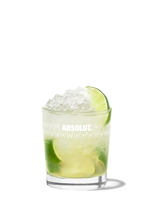 caipirinha   against white background