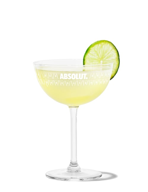 daiquiri against white background