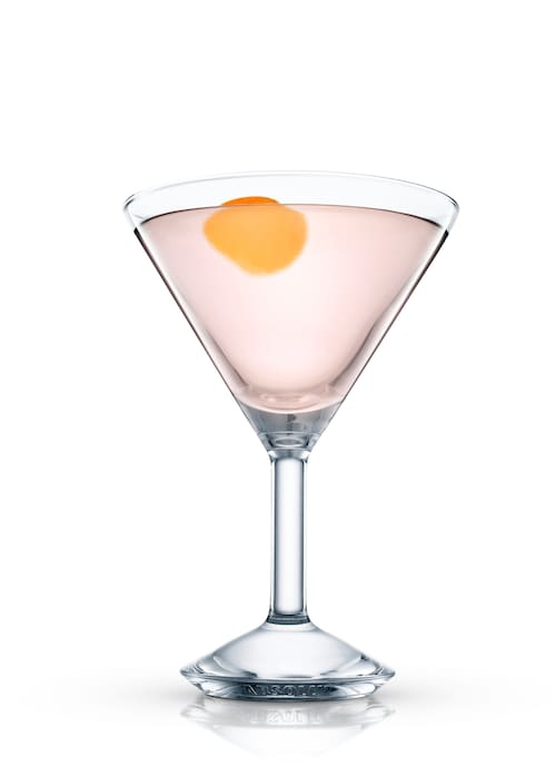 soho martini against white background