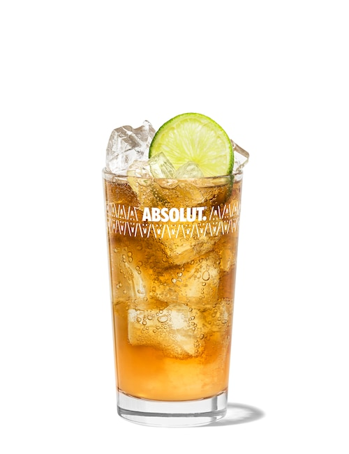long island iced tea against white background