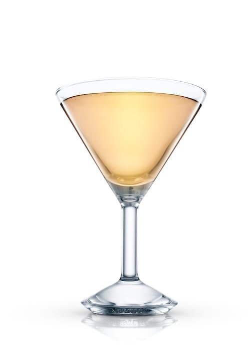 jockey club cocktail against white background