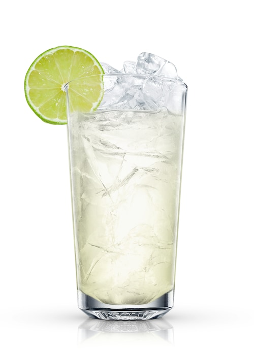 absolut lime spritz against white background