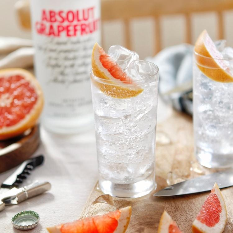 Grapefruit and Soda