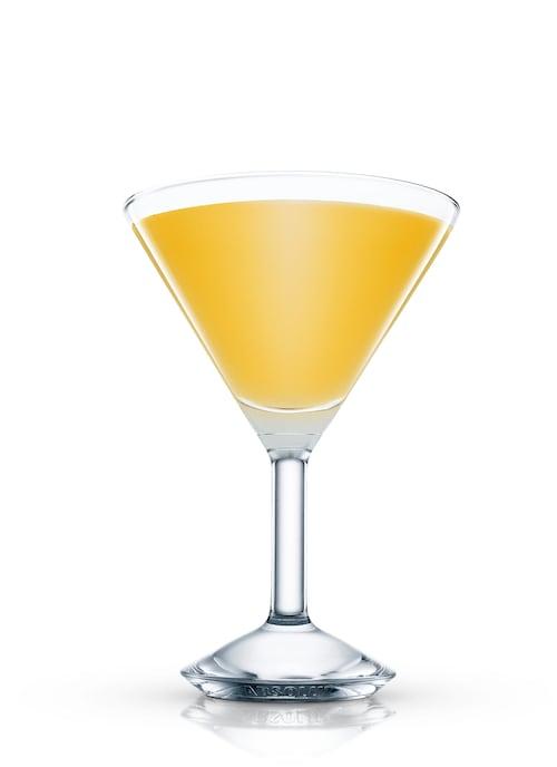 butler cocktail against white background