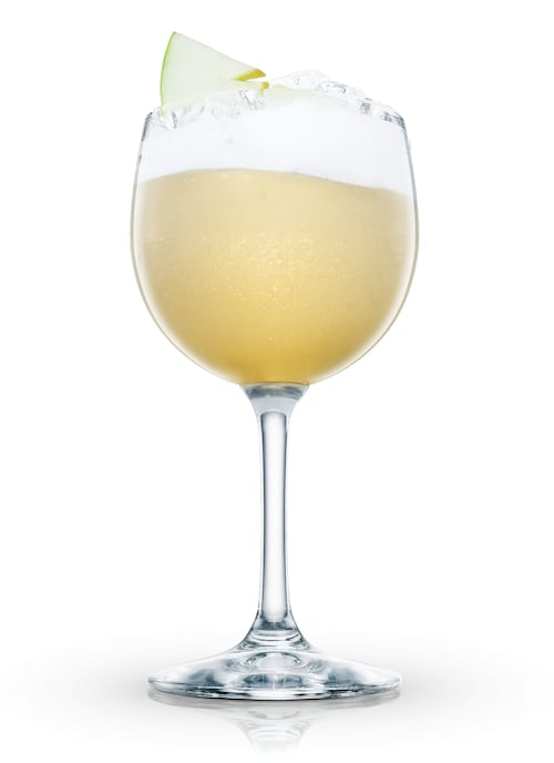 delicious sour against white background
