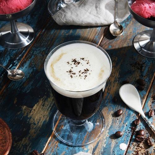 irish coffee in environment