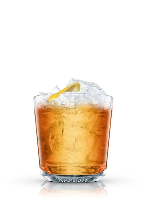 rusty nail against white background