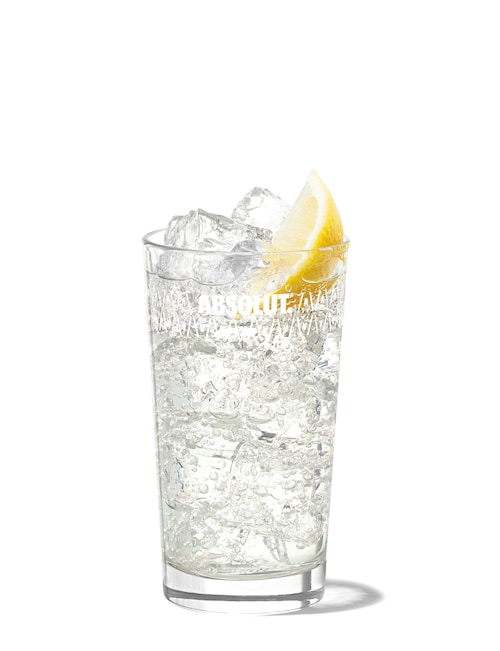 absolut elder tonic against white background