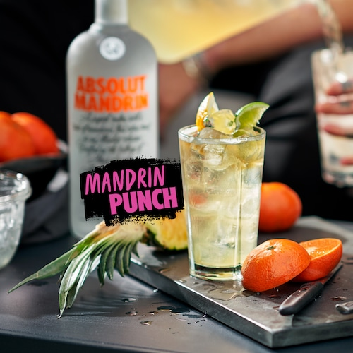 absolut mandrin punch in environment